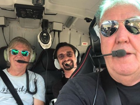 Jeremy Clarkson appears to be flying a helicopter on The Grand Tour season 4 and fans are understandably petrified