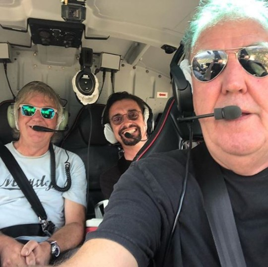 Jeremy Clarkson flied a helicopter on The Grand Tour season 4