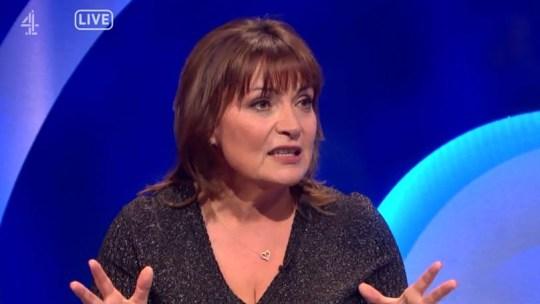Lorraine Kelly on The Last Leg