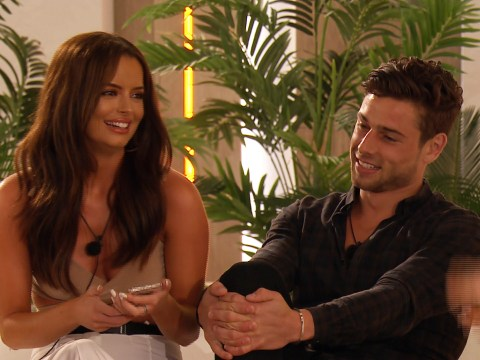 What did Tom say to Maura in Love Island and who did she take to the Hideaway?