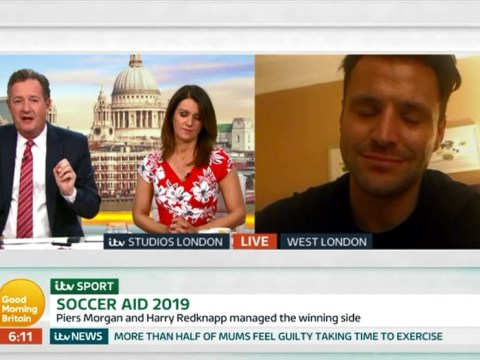 Mark Wright hangs up on Piers Morgan as presenter taunts him for missing Soccer Aid penalty