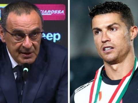 Maurizio Sarri challenges Cristiano Ronaldo to break Gonzalo Higuain's goalscoring record at Juventus