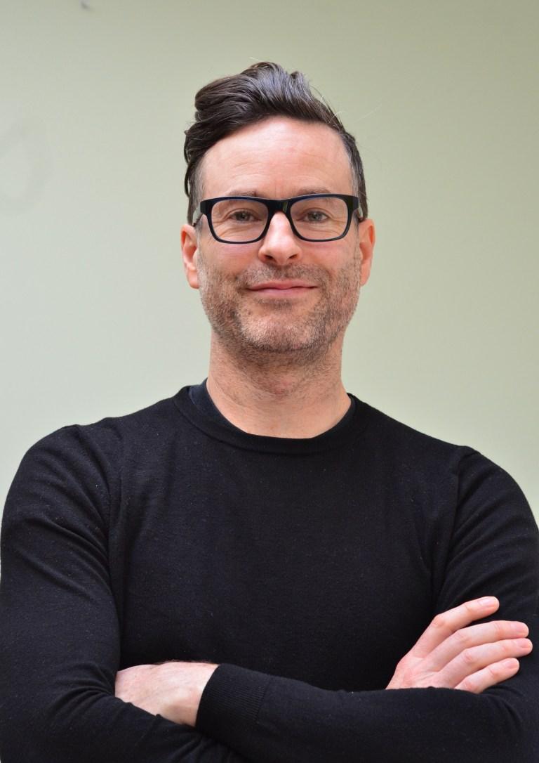 Nick Bennett, co-founder of Fika in black tshirt
