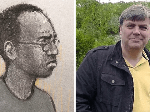 Man accused of murdering dad on train told ex 'I've done something bad'