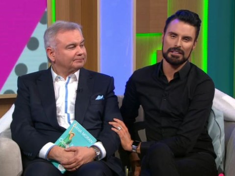 Eamonn Holmes chokes up and says Ruth Langsford's 'broken' after sister's death