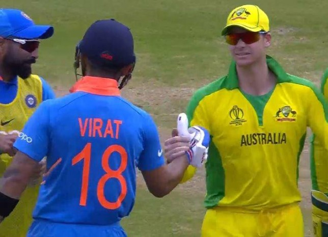Australia's Steve Smith praises India captain Virat Kohli after World Cup gesture