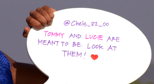 Love Island tweet challenge