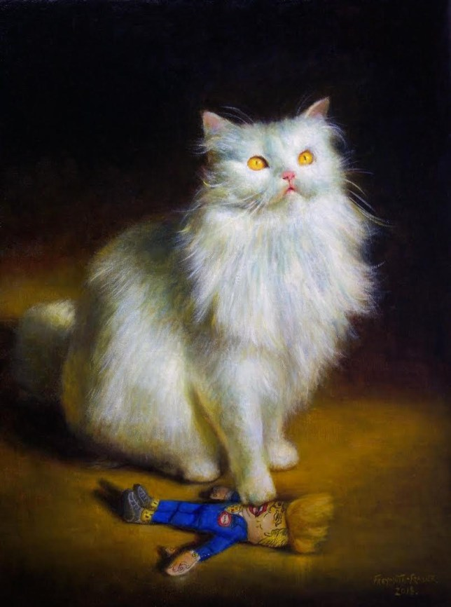 Cat art, anyone? 30 cat paintings on sale in new art show at CatFest