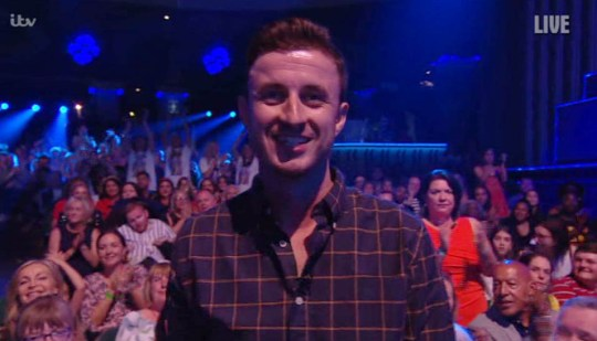 Britain;s Got Talent vet in the audience