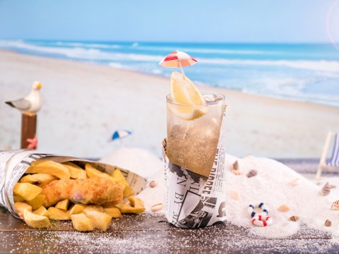 Poppie's is serving up vinegar cocktails to celebrate National Fish and Chip Day