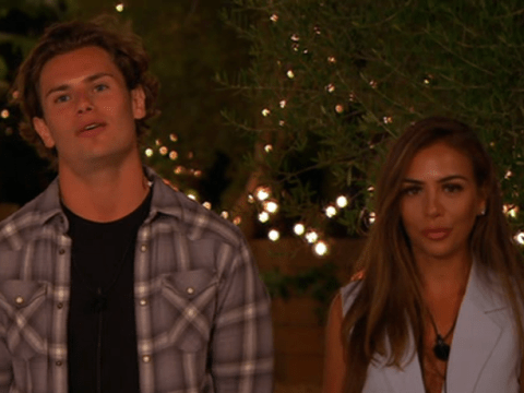 Love Island's Elma Pazar wasted no time in messaging Joe Garratt after Lucie Donlan moved on