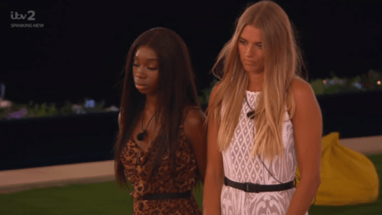 Love Islands Yewande Biala and Arabella Chi