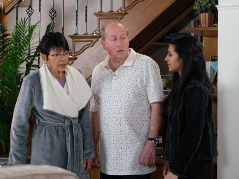 Is Geoff Metcalfe dying in Coronation Street?