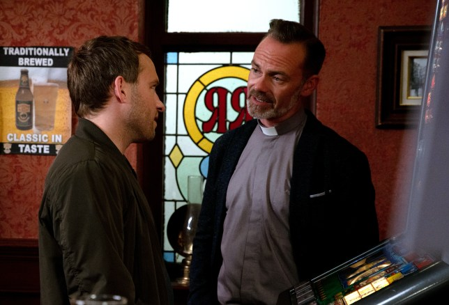 Billy and Paul in Coronation Street