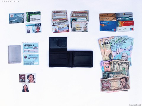 Fascinating pictures show what people around the world keep in their wallets