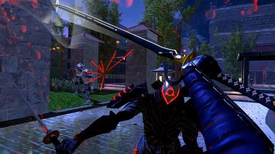 Sairento VR (PS4) - run, jump, and slice