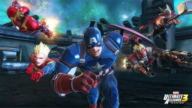 Marvel Ultimate Alliance 3 (NS) - just mash the buttons and you'll be all right