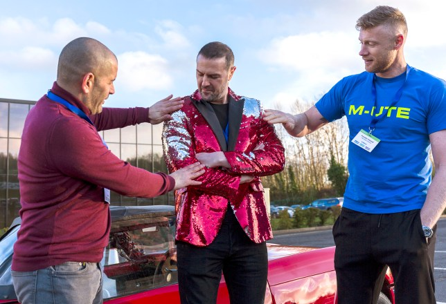 Top Gear's Paddy, Freddie and Chris