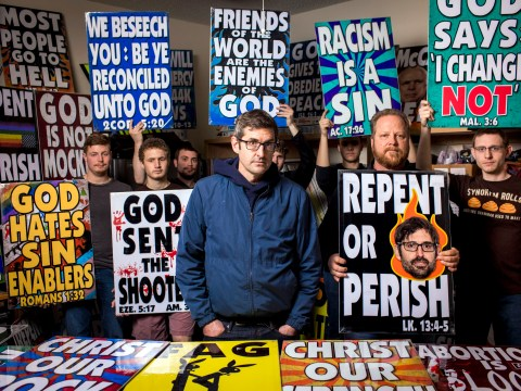 Louis Theroux insists he's not 'recruiting' for Westboro Baptist Church