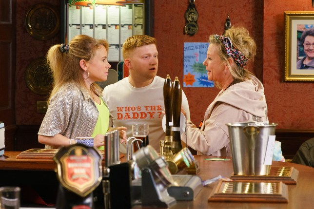 Bernie meets Chesney in Coronation Street