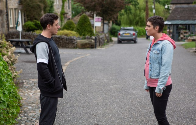 Victoria and Matty in Emmerdale