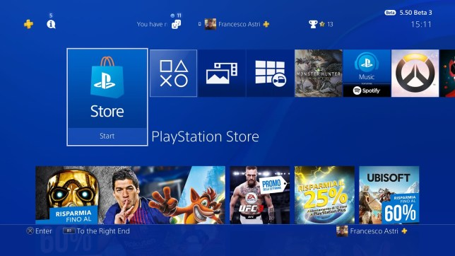 Does the PS4 have a better dashboard than the Xbox One?