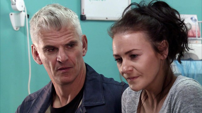 robert and vicky in coronation street
