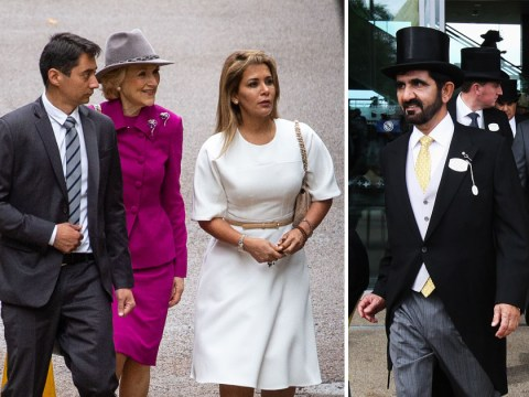 Dubai ruler's wife seen in public for first time since 'fleeing' as she takes him to court