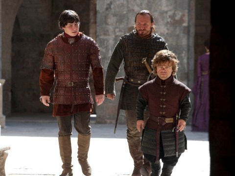 That Game Of Thrones scene where Bronn grabbed Podrick's crotch was improvised says star Jerome Flynn