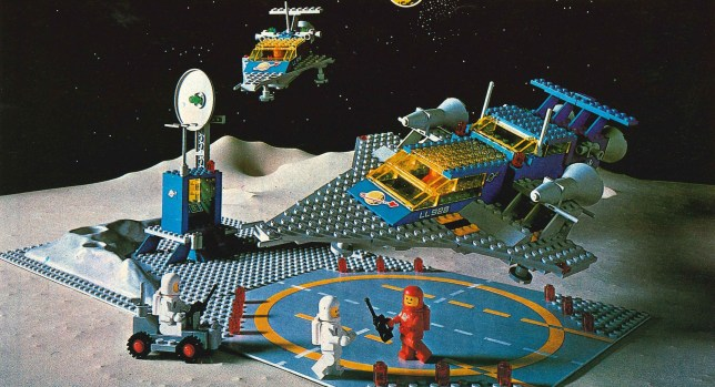 Lego celebrates the Moon landing and over 40 years of Lego Space sets