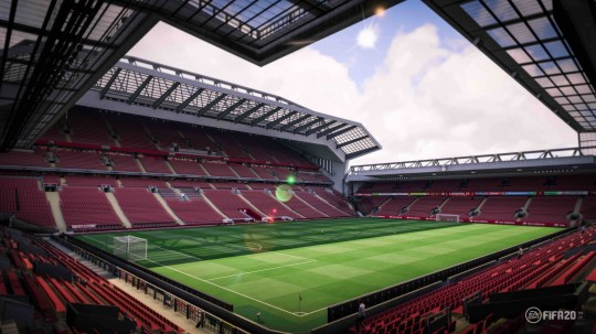Image of Anfield from Fifa 20
