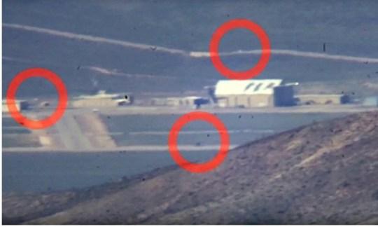 UFO hunters picture Area 51 in detail as millions join alien