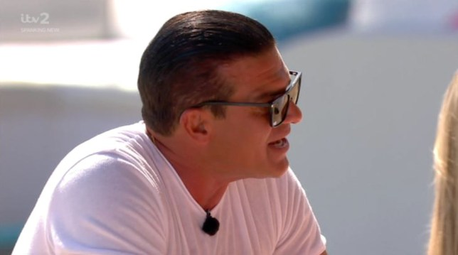 Tamer Hassan tells Anton he wanted to 'rip his head off' after sharing a bed with his daughter Belle on Love Island