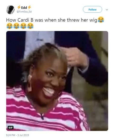 Cardi B Snatches Own Wig At Wireless Festival And The Levels Have