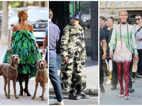 Celine Dion continues to do the absolute most in head-turning outfits during Paris fashion shoot