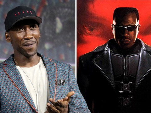 Wesley Snipes gives his blessing to Mahershala Ali as he takes over Blade in MCU