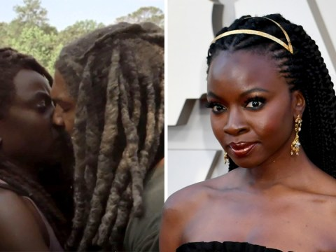 The Walking Dead's Danai Gurira addresses that kiss between Michonne and Ezekiel in season 10 trailer