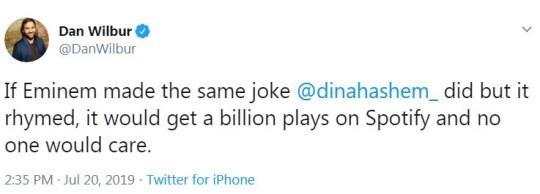 XXXTentacion Venmo joke from Dina Hashem defended by