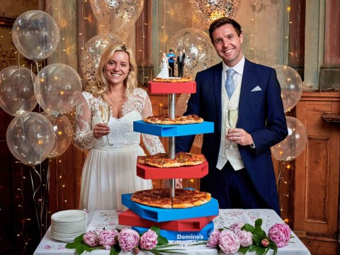 Getting married? Domino's might just cater your entire wedding for free