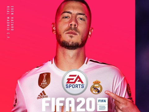 Eden Hazard revealed as FIFA 20 cover star