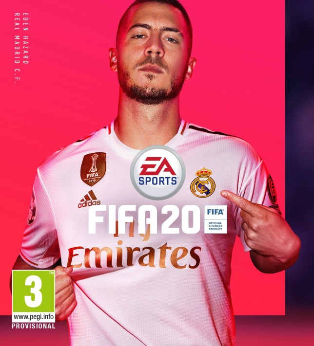 Image result for fifa 20 cover