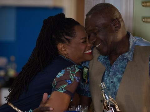 Who is Suzette Llewellyn who plays Patrick's wife Sheree in EastEnders?