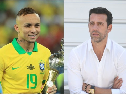 Edu holds talks to make Brazil winger Everton his first Arsenal signing