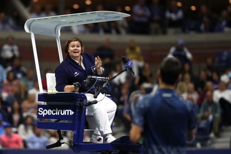 Alison Hughes tennis umpire
