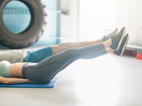 Daily Fitness Challenge: Can you do perfect leg raises for 30 seconds?
