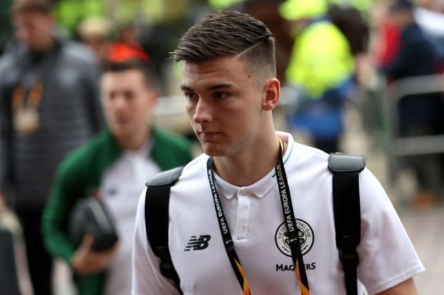 Celtic boss Neil Lennon confirmed that Arsenal had made two bids for Kieran Tierney