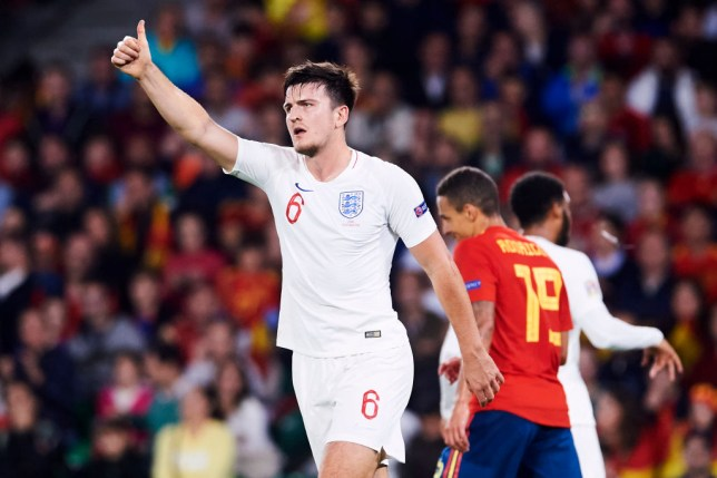 Leicester City want £85m for Harry Maguire