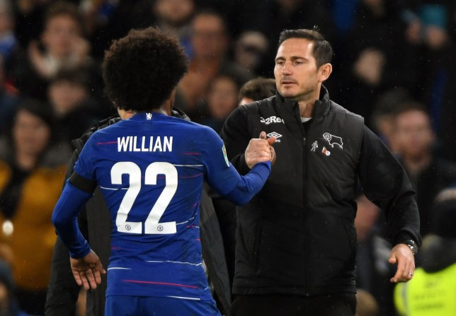 Willian has warn the No.22 shirt throughout his Chelsea career