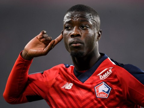 Lille respond to Manchester United offer for Liverpool transfer target Nicolas Pepe