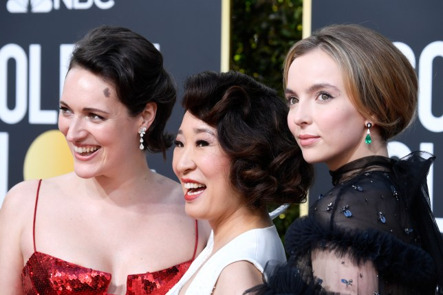Phoebe Waller-Bridge, Sandra Oh and Jodie Comer